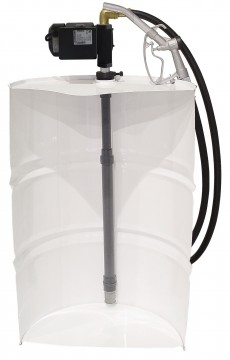 VERTICAL COMPLETE KITS WITH TELESCOPIC TUBE AND IRON-75 PUMP