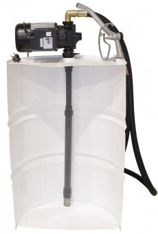 VERTICAL COMPLETE KITS WITH TELESCOPIC TUBE AND AG-100 PUMP